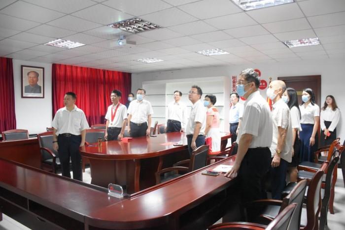 广州现代信息工程职业技术学院收听收看庆祝中国共产党成立100周年大会